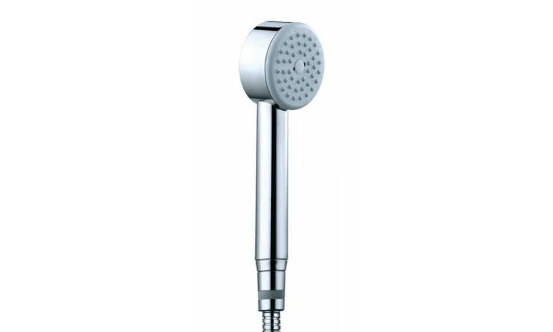 Dušo komplektas Elios su termostatiniu maišytuvu, stacionaria galva 250 ir rankiniu dušu Cilyndrica Bossini