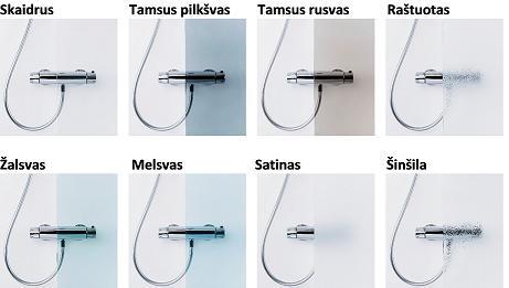 Stačiakampė dušo kabina Baltijos Brasta MILDA