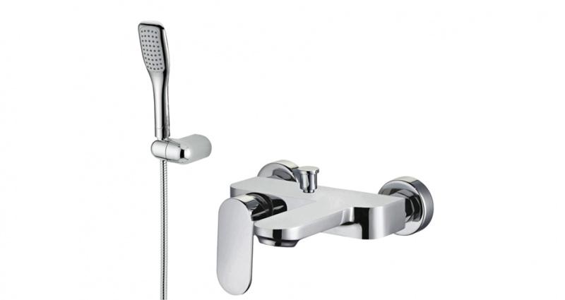 Настенный смеситель для ванны или душа Castello M&Z, РАСПРОДАЖА