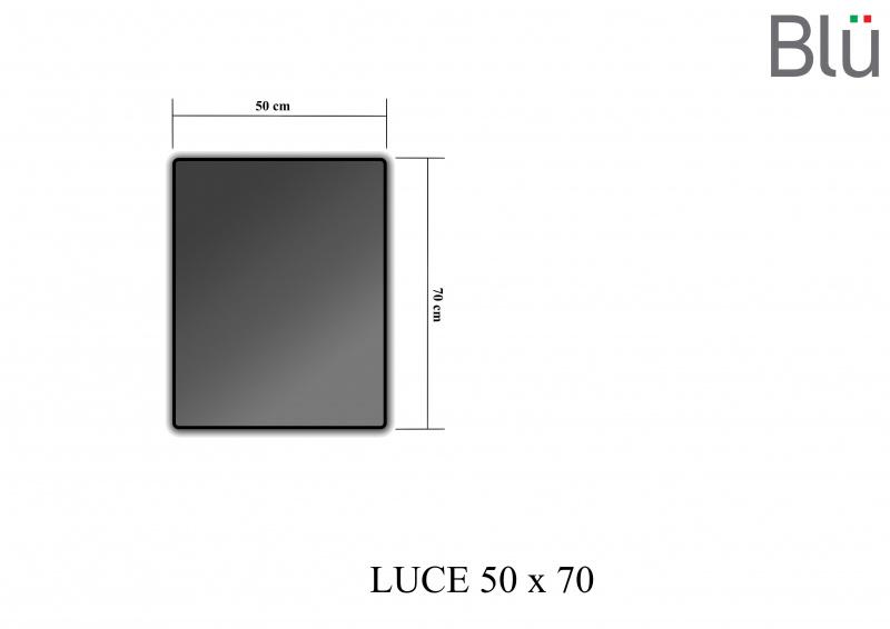 Veidrodis Luce su LED apšvietimu 500