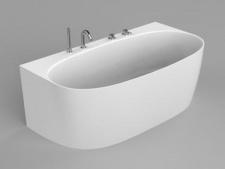Akmens masės vonia Blu NOVA 1580