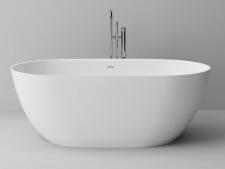 Ванна из литого мрамора Blu ARA с переливом