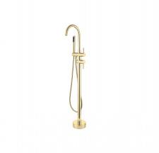 Maišytuvas voniai montuojamas į grindis Besco Illusion, aukso spalvos