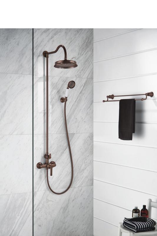 Virštinkinė dušo sistema Omnires Armance (varis)