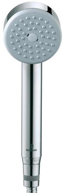 Juodos ar Baltos spalvos dušo komplektas Bossini Elios 250 su termostatiniu maišytuvu