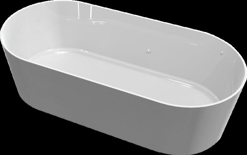 Akmens masės vonia Blu DORADO 1810 Evermite