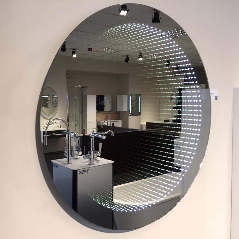 Veidrodis Blu GALASSIA Round  600 su LED apšvietimu