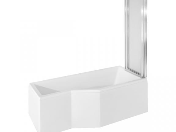 Стенка для ванны Besco Ambition Premium 130