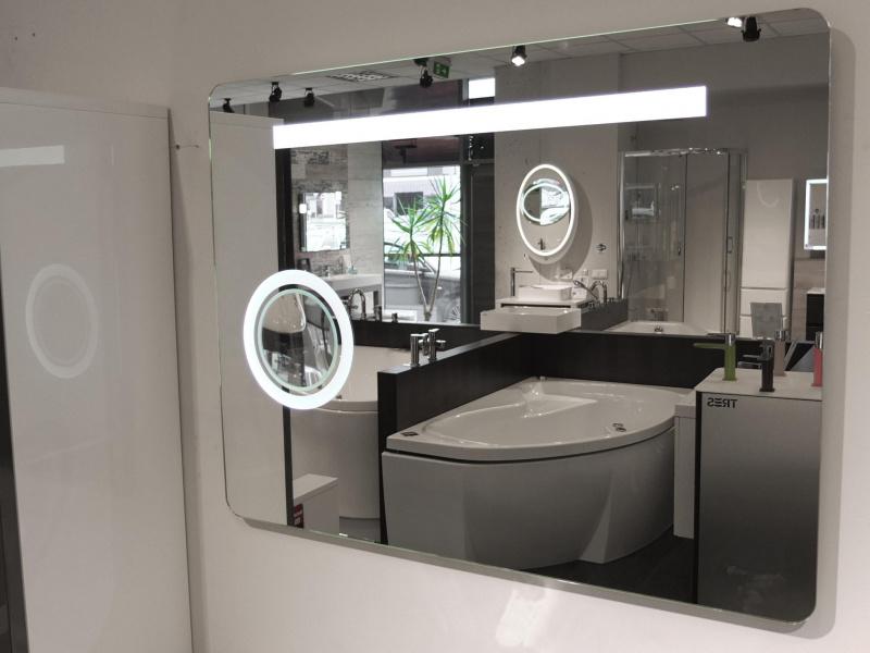 Зеркало Blu MONDO PLIUS с LED подсветкой 850