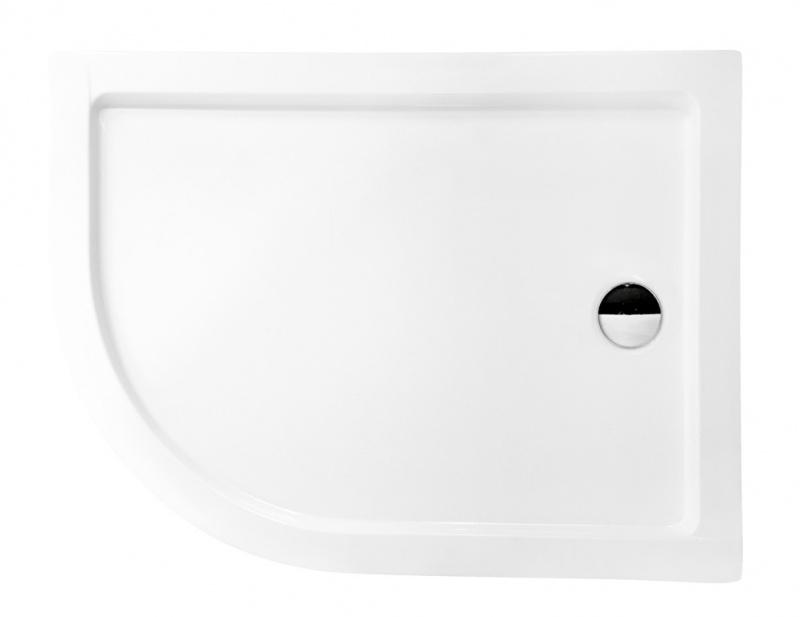 Asimetrinis dušo padėklas Besco Saturn