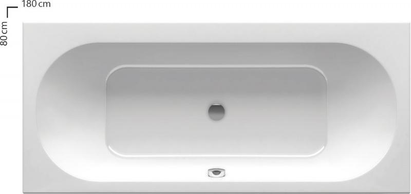 Išskirtinė akrilinė vonia Ravak City 180x80 su kojomis