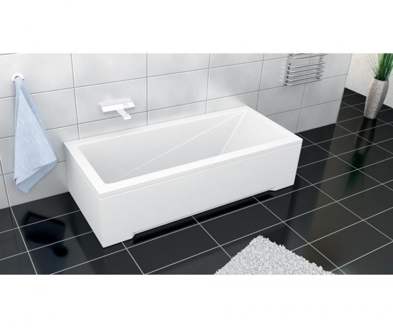 Stačiakampė akrilinė vonia Besco MODERN 140x70