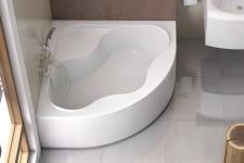 Угловая акриловая ванна Ravak Gentiana