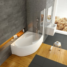 Асимметричная акриловая ванна Ravak Rosa II
