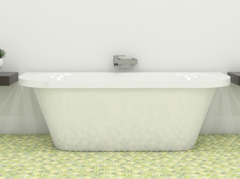 Akmens masės vonia Blu ARTE 1700 Evermite