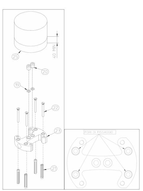 Vonios maišytuvas iš grindų Digit 3 Idrotech II Palazzani
