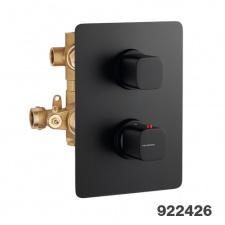 Potinkinis 3-jų eigų termostatinis maišytuvas dušui Palazzani Mis Wild Color