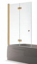 Vonios sienelė Baltijos Brasta BERTA aukso spalvos profiliu