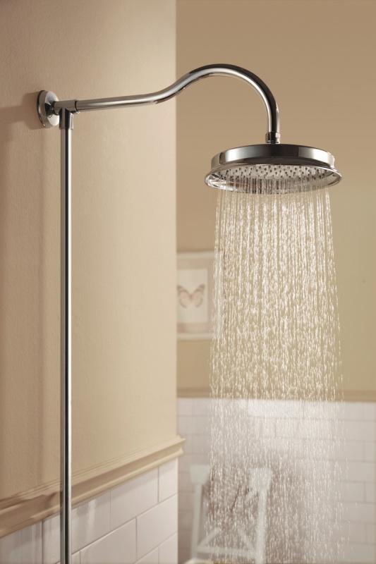 Virštinkinė termostatinė dušo sistema Omnires Armance 5244