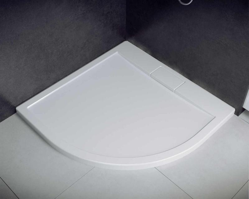 Akrilinis dušo padėklas Besco Axim UltraSlim