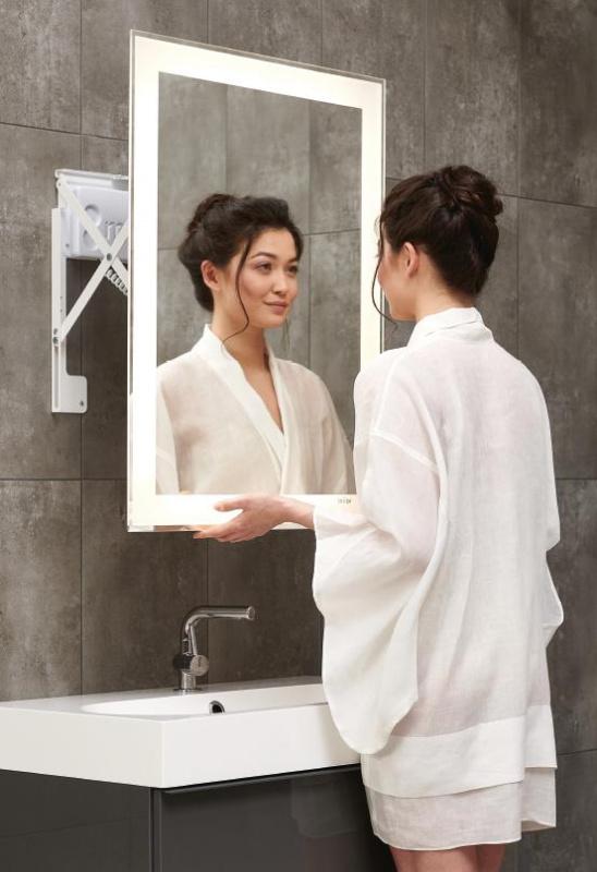 Vonios kambario veidrodis Fit Miior (atitraukiamas)