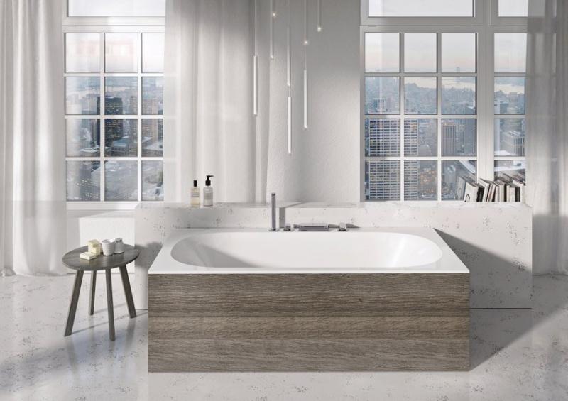 Išskirtinė akrilinė vonia Ravak City 180x80 Slim su kojomis