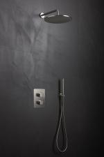 Plieno spalvos potinkinė dušo sistema Palazzani Mis color