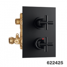 Potinkinis 2-jų eigų termostatinis maišytuvas dušui Palazzani Formula Multi Color
