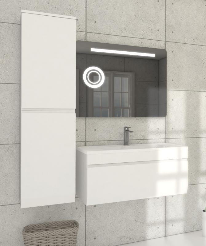 Pakabinama vonios spintelė su praustuvu Blu MENSA