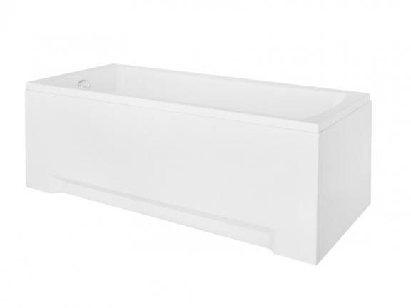 Stačiakampė akrilinė vonia Besco OPTIMA, be rankenėlių