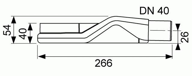 Latakas su įklijuojama plytele Tece Plate Drainline