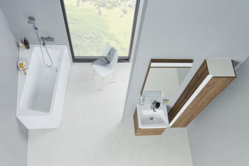 Asimentrinė akrilinė vonia Ravak Vonia 10°