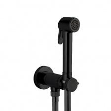 Гигиенический душ черного цвет с прогрессивным смесителем Bossini E37 - PALOMA-BRASS PROGRESSIVE MIXER SET