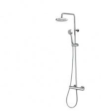 Комплект для душа Elios с термостатом, стационарная голова 250 и ручной душ Cilyndrica Bossini