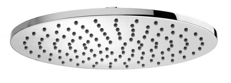 Juodas arba baltas termostatinis dušo komplektas Cosmo 280 Bossini